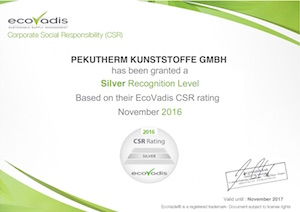 Image: EcoVadis Certification