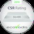 EcoVadis CSR Certificate Silver Level