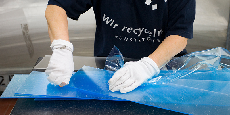 Kunststoff-Recycling